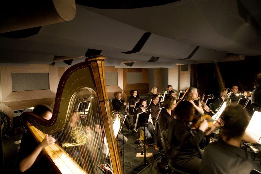 Orchestergraben Landestheater Detmold