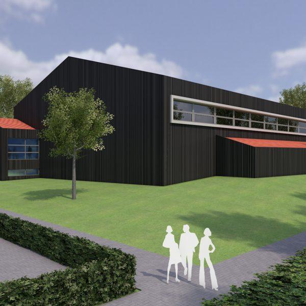 Visualisierung Sporthallen Kalletal Hohenhausen