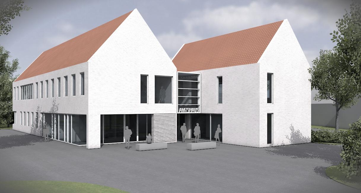 Visualisierung Amtshaus Stemwede