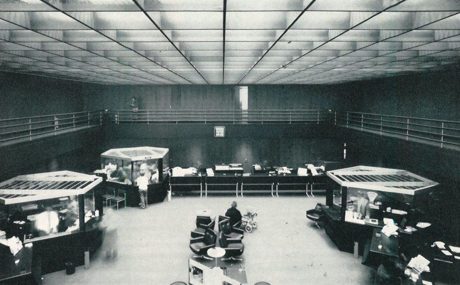 Ostertor Schalterhalle 1972
